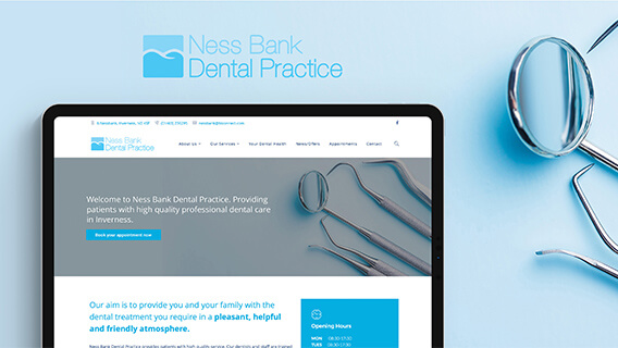 Clean and User Friendly Site for Dentist