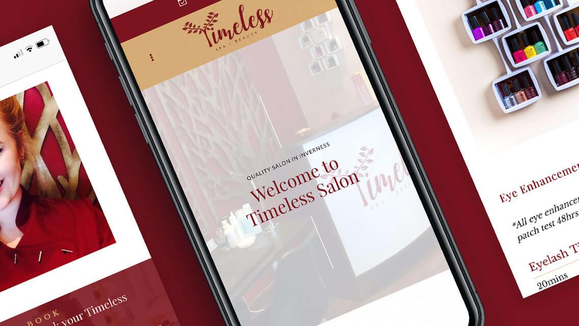 Elegant Digital Presence for Beauty Brand